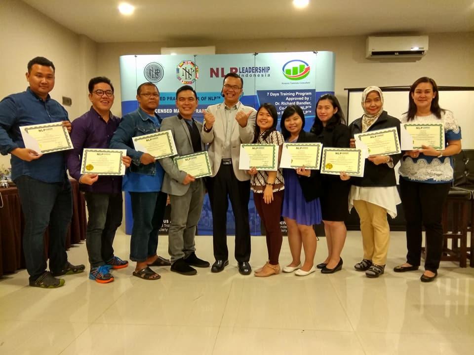 Selamat kepada para peserta NLP Practitioner Batch 10